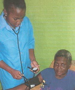 Photo: Kaylah-P. Nursing Assistant /Health Care Aid Seniors